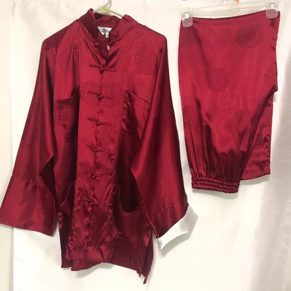395ed1cb8dc7 Merlion oversize Japanese Pajamas size small